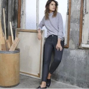 Lou & Grey Coated Modern Skinny Ankle Fit Jeans